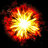 Explosion 2 Royalty Free Stock Image