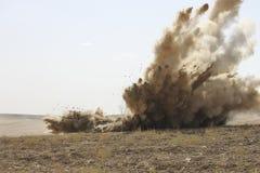 Explosion Royaltyfria Bilder