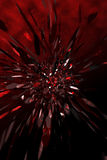 Explosion. Background with an explode Abstract 3D shape Royalty Free Stock Photography