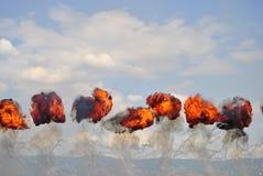 Explosion Lizenzfreie Stockfotos