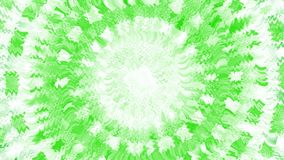 Explosion.  Animation of abstract light tunnel. Fractal motion background with streaks of green and white light. Bright star animation. Quick action. Winter stock video