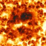 Explosion ardente illustration stock