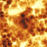 Explosion ardente Photographie stock libre de droits