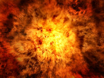 Explosion Background Royalty Free Stock Photography