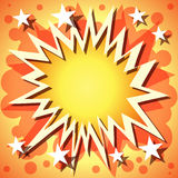 Explosion Background Royalty Free Stock Images