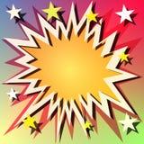 Explosion Background Royalty Free Stock Image
