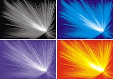 Explosion background Stock Images