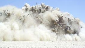 Explosion stock video