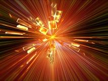 Explosion, blast Royalty Free Stock Photography