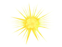 Explosion, blast  symbol element vector illustration Royalty Free Stock Photos