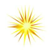 Explosion, blast  symbol element vector illustration Stock Photography