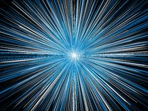 Explosion blue Stock Images