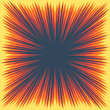 Explosion boom frame Royalty Free Stock Image