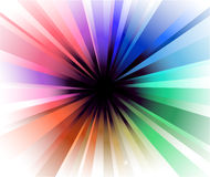 Explosion of Colorful Lights Royalty Free Stock Images