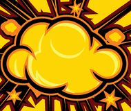 Explosion. (Comic Book  Background Royalty Free Stock Photos