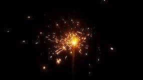 Explosion d'étincelle Photo libre de droits