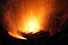 Explosion d'étincelle Images stock