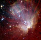 Explosion d'étoile Image stock
