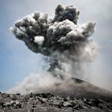 Explosion dangereuse Photographie stock libre de droits
