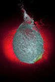 Explosion de ballon Image libre de droits