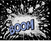 Explosion de bande dessinée - grondement illustration libre de droits