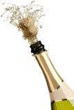 Explosion de Champagne Photo stock