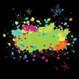 Explosion de couleur Images libres de droits