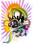 Explosion de danse ! Images libres de droits