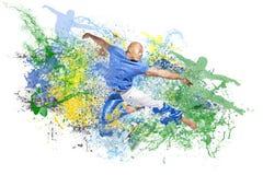 Explosion de danse photographie stock libre de droits