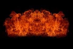 Explosion de flamme Photos stock