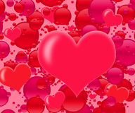 Explosion de l'amour Photographie stock libre de droits