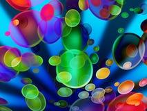 Explosion de l'eau Photo libre de droits