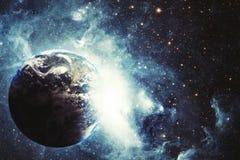 Explosion de la terre illustration libre de droits