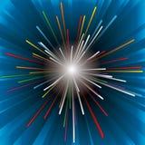 Explosion de lueur Photo stock