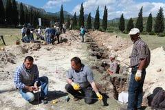EXPLOSION DE MINE DE CHARBON AU SOMA, MANISA Image libre de droits