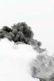 Explosion de nuage de fumée Photographie stock libre de droits