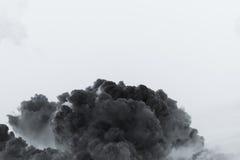 Explosion de nuage de fumée Images stock