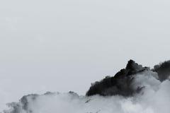 Explosion de nuage de fumée Photos stock