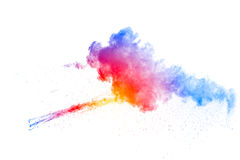 Explosion de poudre de couleur illustration de vecteur