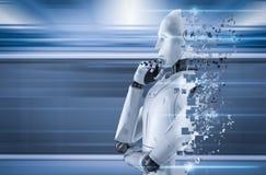 Explosion de robot d'AI