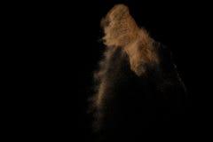 Explosion de Sandy Photographie stock libre de droits