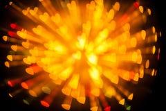 explosion de tache floue de coeur de bokeh Photographie stock