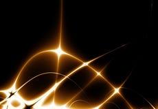 Explosion der Leuchte Stockbild