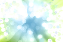 Explosion des blauen Grüns Lizenzfreies Stockbild