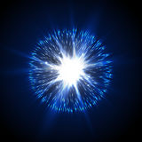 Explosion and discharge, vector Stock Photography