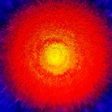 Explosion eines Sternes Lizenzfreies Stockfoto