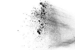 Explosion för svart pulver Royaltyfria Bilder