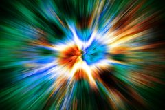 Explosion fire texture. Nice explosion texture generated by the computer Stock Images