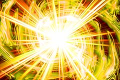 Explosion fire texture. Nice explosion texture generated by the computer Stock Image