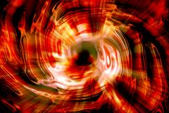 Explosion fire texture. Nice explosion texture generated by the computer Royalty Free Stock Images